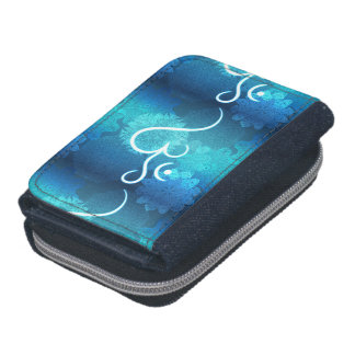 Indian ornament pattern with ohm symbol wallets