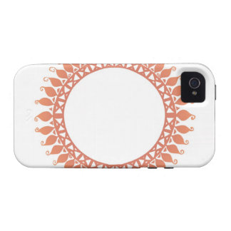 Indian Pattern Vibe iPhone 4 Covers