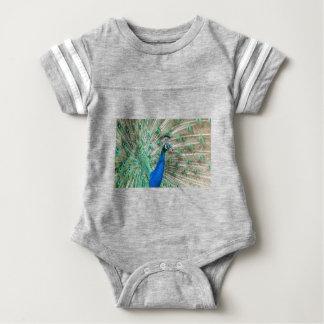 Indian Peacock Baby Bodysuit