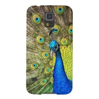 Indian Peacock Galaxy S5 Case