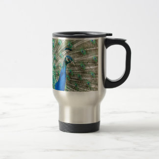 Indian Peacock Travel Mug