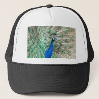 Indian Peacock Trucker Hat