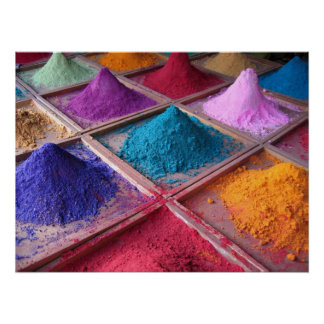 Indian Pigments Poster