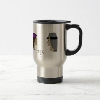 Indian Pilgrim Heads Coffee Mugs