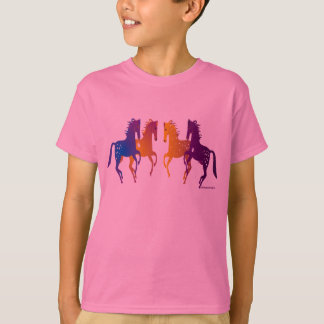 Indian Ponies Kids T-Shirt