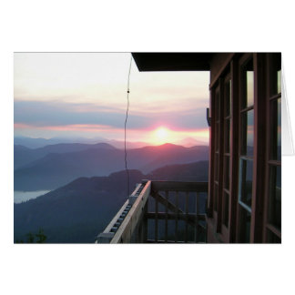 Indian Ridge Fire Lookout Card