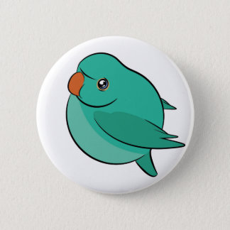 Indian Ringneck Birble Button 2.25""