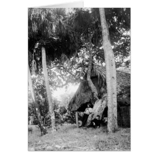 Indian River, Florida Getaway: 1890s Greeting Card