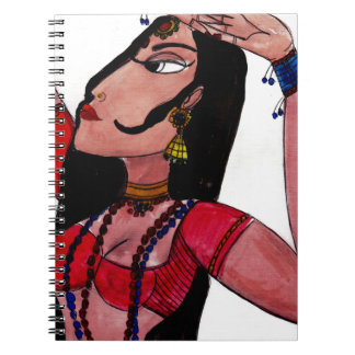 Indian Sacred Dance Notebook