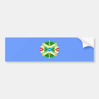Indian sample native American pattern Bumper Sticker