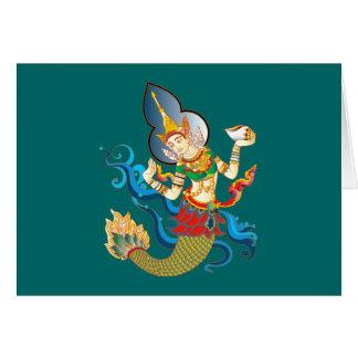Indian sea goddess indian sea goddess card
