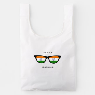 Indian Shades custom reusable bag