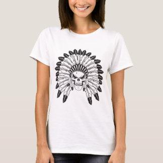 Indian Skull Chief T-Shirt