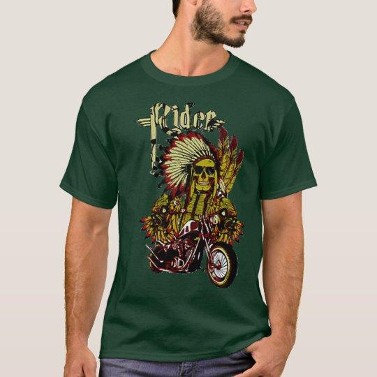 Indian Skull Rider T-Shirt