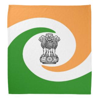 Indian spiral flag bandana