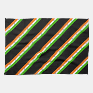 Indian stripes flag kitchen towel