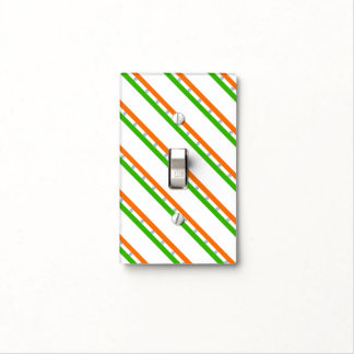 Indian stripes flag light switch cover