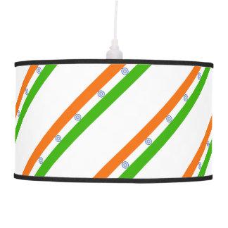 Indian stripes flag pendant lamp