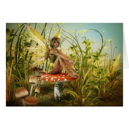 Indian Summer Fairy Note Card