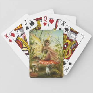 Indian Summer Fairy Playing Cards