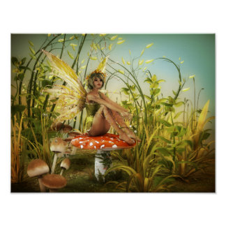 Indian Summer Fairy Poster
