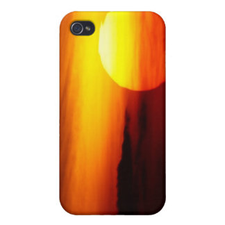 Indian Summer Sunset Cover For iPhone 4