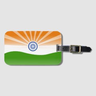 Indian sun bag tag