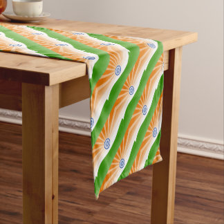 Indian sun short table runner