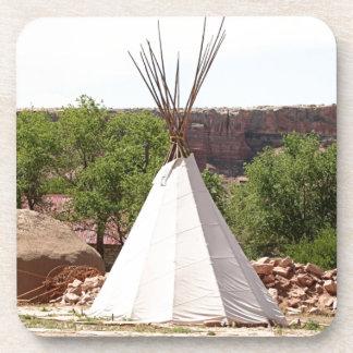 Indian teepee, pioneer village, Utah Coaster