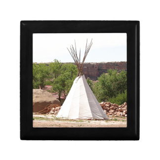 Indian teepee, pioneer village, Utah Gift Box