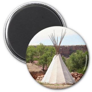 Indian teepee, pioneer village, Utah Magnet