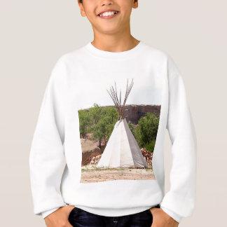Indian teepee, pioneer village, Utah Sweatshirt