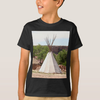 Indian teepee, pioneer village, Utah T-Shirt