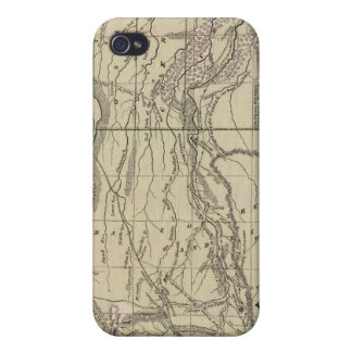 Indian Territory, North Texas, New Mexico Cover For iPhone 4