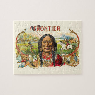 Indian Tobacco Label Jigsaw Puzzle