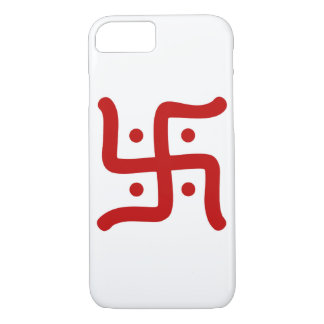 indian traditional hindu swastika symbol religion iPhone 8/7 case