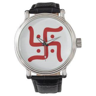 indian traditional hindu swastika symbol religion watch