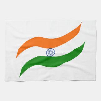 Indian undulating flag kitchen towel
