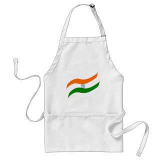 Indian undulating flag standard apron