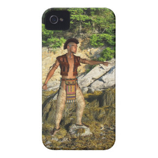 Indian Warrior iPhone 4 Covers