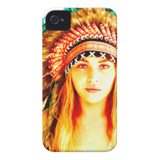 Indian warrior Case-Mate iPhone 4 cases