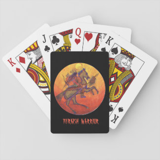 Indian Warrior colour - Indian Playing cards
