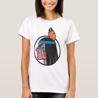 Indian Warrior Head T-Shirt