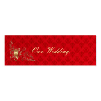 Indian Wedding - Wedding Homepage Card Mini Business Card