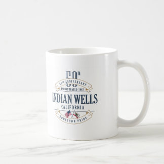 Indian Wells, California 50th Anniversary Mug