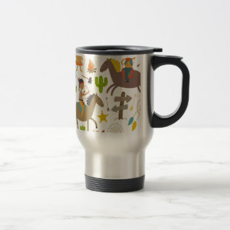 Indian wild duck cowboy.jpg travel mug