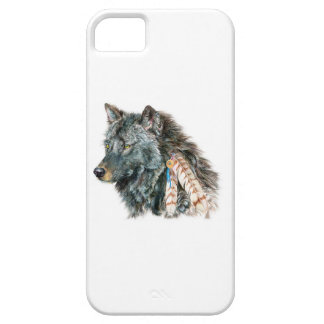 Indian Wolf Cell Phone Cover for IPhone 5C