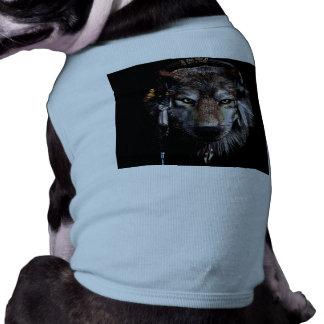 Indian wolf - gray wolf shirt