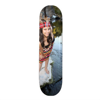 Indian Woman Skate Deck