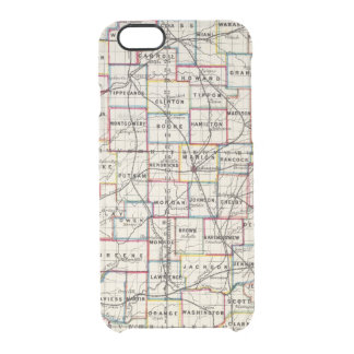 Indiana 2 clear iPhone 6/6S case